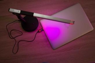 Настольный USB фито светильник для подсветки растений и досвечивания рассады на базе биколорных светодиодов