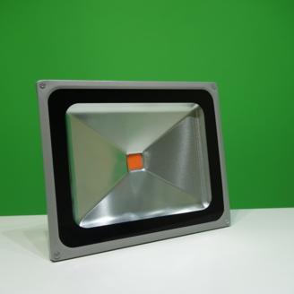 Светодиодный фито прожектор 50 Вт для искусственного освещения растений, для выращивания рассады. Прожектор для растений.
